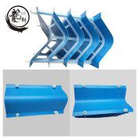 V型冷却塔收水器蓝色PVC收水器V型冷却塔除水器——河北龙轩