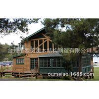 木房子别墅阳光木房造价 木质别墅庭院设计 专业定制美式轻型木屋