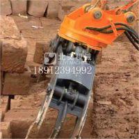 抓木器 久保田挖掘机钩机液压360度旋转 回转式抓石器 夹石器