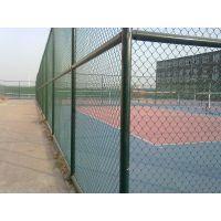 上饶余干河道隔离防护体育场围网 浸塑镀锌勾花篮球场围网 厂家定制