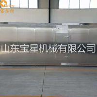 隧道式连续速冻机 大虾河鲜速冻冷冻设备 诸城食品机械厂家
