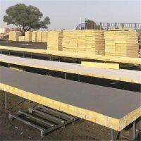 国标质量外墙岩棉板 防水岩棉保温板市场价格