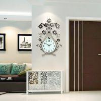 创意钟表挂钟客厅现代简约静音卧室壁钟欧式个性时钟时尚家用挂表