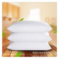 酒店枕芯 宾馆客房床上用品 全棉羽丝棉枕头被子褥子 厂家批发
