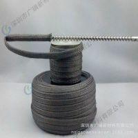 高温金属软管 高温金属纤维套管用于玻璃钢化炉架子缓冲原料