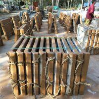 连云港市厂家制作街道绿化水泥仿木花箱花桶