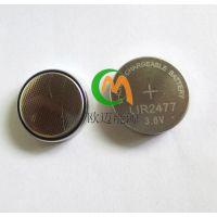 高容量可循环充电池LIR2477/200mAh