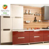 中山定制橱柜工厂 UV高光门板 工程配套家具 多层实木夹板 防火板
