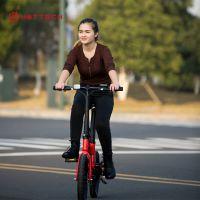 厂家直销16寸锂电池迷你折叠自行车代驾