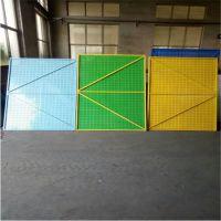 建筑爬架网 新型钢板安全网 圆孔建筑外墙爬架网片