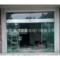 株洲重叠 地弹簧门 无框平移玻璃门 不锈钢自动玻璃门定制