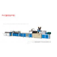 PVCPP ABS PC型材挤出生产线 PS相框条生产线