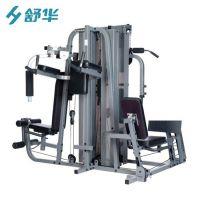 健身房综合训练器多功能商用五人站训练器批发