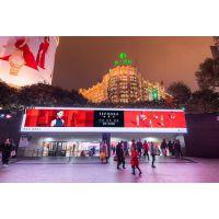 超级盛典上海南京路奢华呈现南京路步行街通道广告