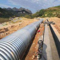 青海省波纹涵管厂家直销公路桥梁隧道涵洞专用波纹管 量大从优
