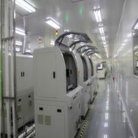 光学镜片显示屏净化车间