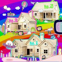 轻木木质diy小屋模型手工拼装建筑模型欧美风格休闲小房子玩具