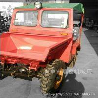 两驱轮式柴油自卸翻斗车 两驱肥料运输翻斗车 高效节能载货翻斗车