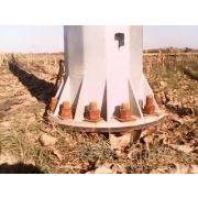 钢管塔 66kv-220kv定制 电力钢杆供应 基业
