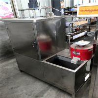 小型豆腐机占地小产量大 仿手工豆腐机效益高
