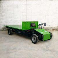 加工定制农用四轮车加宽加长四轮平板拉货车装修门市部电动平板车