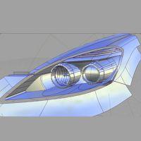 杭州汽车车灯手板3D扫描服务,诚信经营,踏实为本
