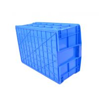 蔬菜鱼水果放置箱,发货快,质量好,塑料可堆式周转箱575-250