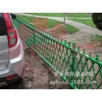 【华塑围栏】仿竹护栏 草坪护栏 竹篱笆 竹节护栏 花园篱笆