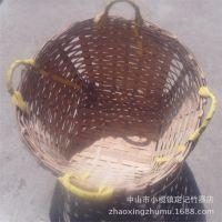 竹编织库存竹制品  安全实用 环卫小竹箩筐