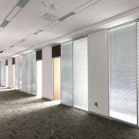 供应广东装修双层玻璃内置百叶隔断办公室间隔墙