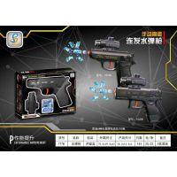 爆款儿童电动手动水弹枪系列玩具连发两用多功能水弹枪厂家直销