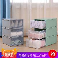 内衣收纳柜储物箱抽屉式衣柜收纳箱塑料整理箱卧式简斗柜