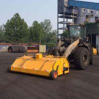 清理道路渣土碎石-装载机封闭前进清扫器 节能高效扫地机首选