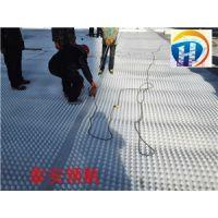 长沙地下车库排水板+塑料滤水板厂家供应