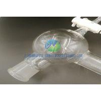 回流瓶反应釜配件具四氟塞回流头带球500ml加厚耐高温可定制
