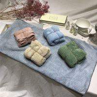 吸水毛巾 菠萝格柔软美容巾 马卡龙色速干毛巾 4184