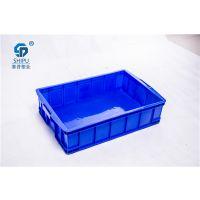 厂家批发PE全新料575-250箱 大号塑料周转箱规格