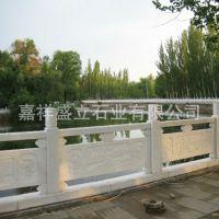 高档别墅阳台柱雕刻 庭院护栏批发 石雕小桥栏板栏杆