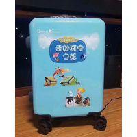 嘉兴平湖行李拉杆箱uv打印机PVC皮革箱包定制印花机铝拉杆箱uv喷绘机