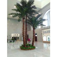 批发仿真椰子树 跃杰仿真植物 仿真假椰子树销售
