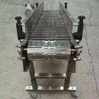 不锈钢板链输送机流水线链板传送机