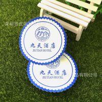 工厂生产加工 吸水纸杯垫 酒吧餐厅茶水用品垫具 精美酒店装饰品