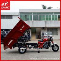 销售宗申200发动机正三轮摩托车货运翻斗自卸三轮摩托车货车 出口