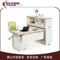 广东办公家具批发 E1级简约板式电脑桌 带柜子组合多功能办公桌