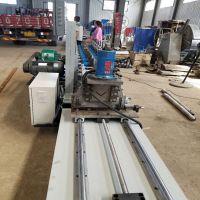 兴和专业定制热镀锌角钢设备   压角钢成型机器