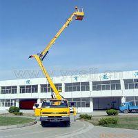 16米东风江铃高空作业车 修厂房路灯用曲臂式升降车16米高空作车