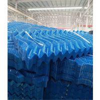 电厂专用S波透明填料 白色透明S型冷却塔填料 低价供应中 品牌华庆
