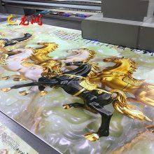 3d浮雕效果集成墙板 精工uv2030彩绘机