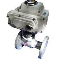 电动法兰导热油蒸汽开关球阀电动不锈钢304高温球阀阀门Q941M-16P