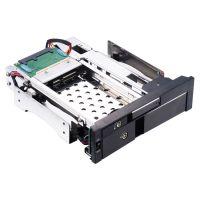 2.5+3.5寸光驱位内置硬盘盒支持热插拔 Unestech ST7224B